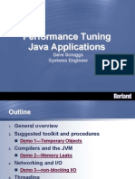 Performance Tuning Java Applications