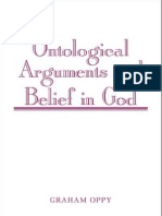 Ontological arguments for belief in God