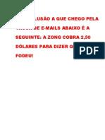 Zong (pagamento digital móvel) - NÃO RECOMENDADO