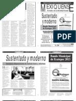 Versión impresa del periódico El mexiquense 5 febrero 2013