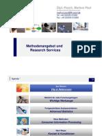 Forschungsservices Markus Paul