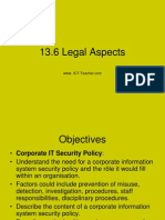 Legal aspects in business