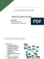 aplicações tcp ip