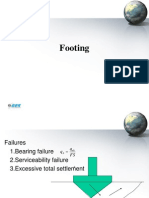 Isolated footing