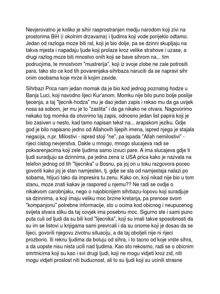 Sihiri I Zapisi Tekstovi   PDF