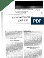 Dosier Democracia