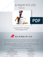 Arun & Rajive Pvt. Ltd. - Company Profile