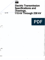 Transmission line specs 115-230 kV