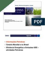 Eficiência energética e reduções de emissões na Petrobrás - por Eduardo Coelho Corrêa (SMES/Petrobrás)