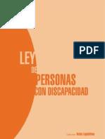 Ley de Personas con Discapacidad