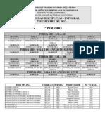 Horario 2012 2 Integral
