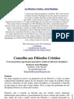 ConselhosAosFilosofosCristaos a.plantinga