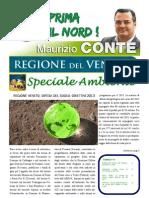 """L'editoriale di Maurizio Conte """"LEGA NORD - LA VOCE DELLA GENTE VENETA"""" - SPECIALE AMBIENTE - edizione febbraio 2013"""