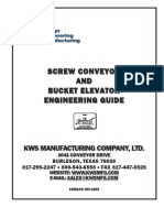 Screw Conveyors and Bucket Elevator Engineering Guide