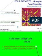 Cours d'Analyse Fonctionnelle