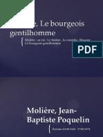 Molière, Le bourgeois gentilhomme