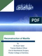 Reconstruction Of Maxilla