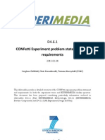 D4.6.1 CONFetti Experiment Problem Statement and Requirements