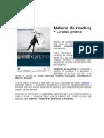 Atelierul de coaching