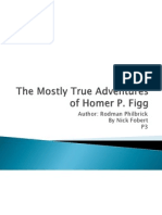 the mostly true adventures of homer p