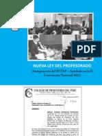 Nueva Ley Del Profesorado