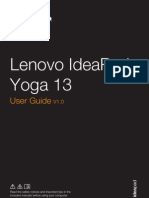 Lenovo Yoga 13 User Guide