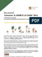 Rame e La Casa Risultati 2012