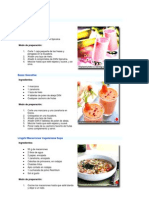 recetas dxn