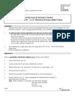 SBSeriesPressureReliefValve0.3-1.5InchIOM