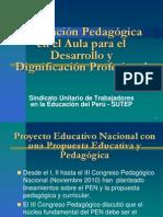 La Pedagogía desde el aula
