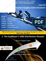 11 great Supply Chain disasters