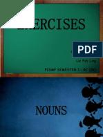 waj 3102- Presentation (exercises)