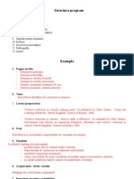 Structura Program