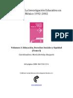ColecciónLa Investigación Educativa en México-1992-2002-03_t1