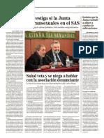La Fiscalía investiga si la Junta discrimina a transexuales en el SAS