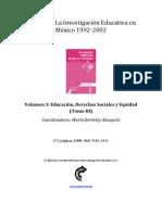 ColecciónLa Investigación Educativa en México-1992-2002-03_t3