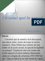 Circuitul Apei in Natura PPT
