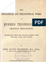 Theological and Philosophical Works of Hermes Trismegistus