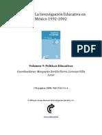 ColecciónLa Investigación Educativa en México-1992-2002-v09