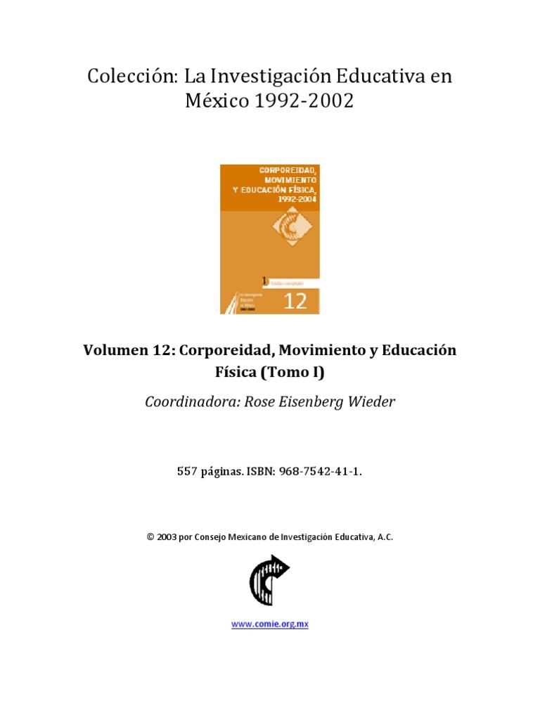 ColecciónLa Investigación Educativa en México-1992-2002-v12_t1