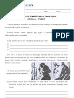 Exercícios de revisão - HIST