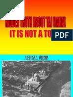 TAJ MAHAL -AN INTERESTING FACT