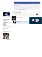 facebook template character johnny the outsiders project