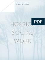 Hospice Social Work -- Dona J. Reese
