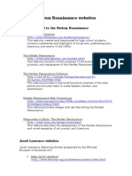 websites of harlem renaissance