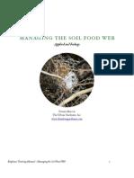 Managing the Soil Food Web