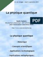 Physique Quantique vulgarisation