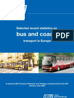 Selected recent statistics on bus and coach transport in Europe