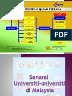 Peluang Pendidikan di Universiti Tempatan (IPTA)