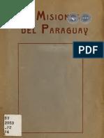 LAS MISIONES DEL PARAGUAY - FERNANDO PÉREZ ACOSTA - 1920 - PORTALGUARANI